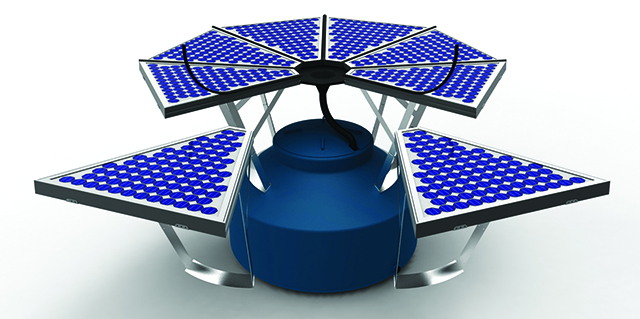 Combining Rainwater Collection And Solar Power With The