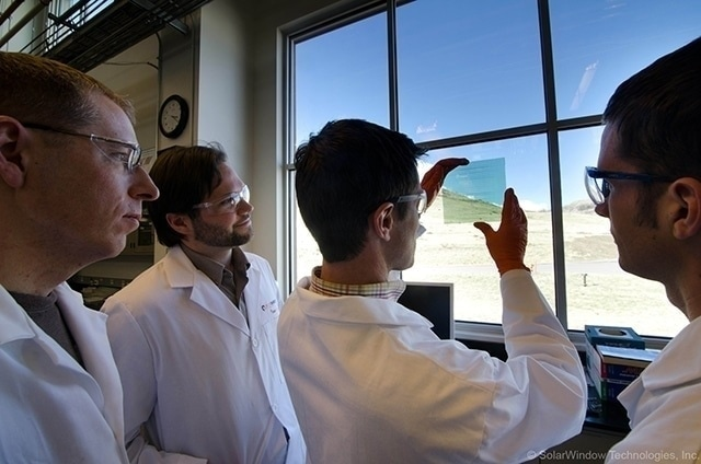 Turning Windows Into Solar Panels