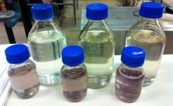 High Concentration Ozone for Removing Organic Dye Compounds from Wastewater