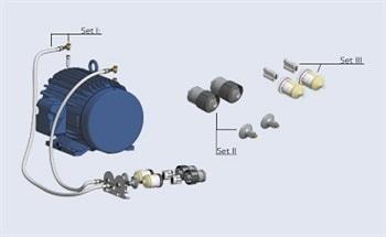 Oil Free Screw Compressors for Standard WEG Motors