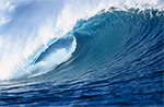 Converting Wave Energy into Zero-Emission Electricity and Desalinated Water