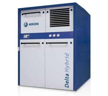 Combined Rotary Lobe and Screw Compressor - Delta Hybrid
