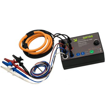 Monitor One, Two or Three Current Channels, As Well As One, Two or Three Voltage Channels - Electrocorder EC-7VAR