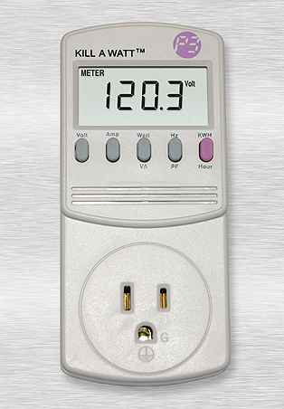 P4400 Kill A Watt Energy Consumption Monitor