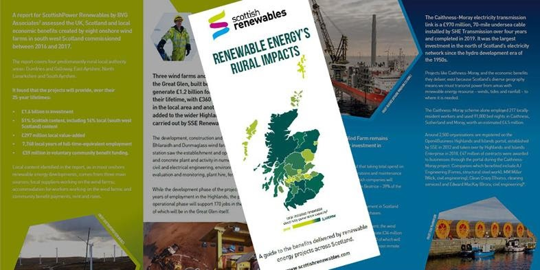 New Report Sets Out Renewables' Contribution to Rural Scotland