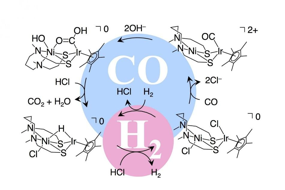 New Catalyst Oxidizes Hydrogen and Carbon Monoxide to Produce Energy