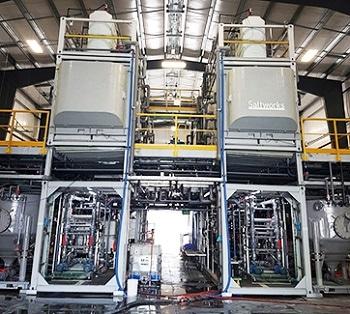 Saltworks Celebrates SaltMaker Crystallizer Installation in BC