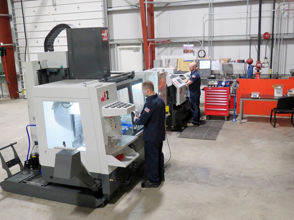 SOLAR ATMOSPHERES OF WESTERN PA ADDS MILLING CENTER