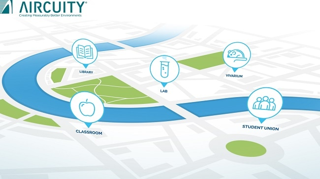 Aircuity Highlights Platform for Reducing Energy Use and Improving the Indoor Environment at the NACUBO 2018 Annual Meeting