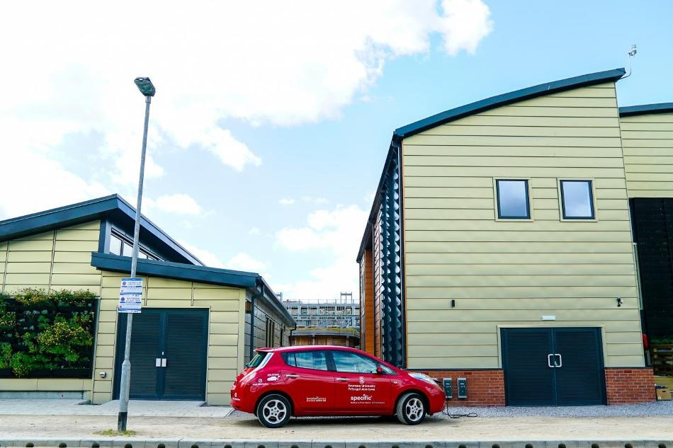 UK's First Energy-Positive Buildings Generate More Energy Than They Consume