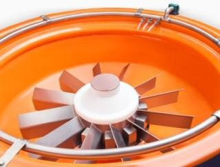 Innovative Mass Finishing Process Increases the Efficiency of Turbines
