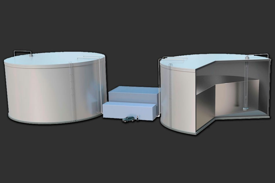 Novel System for Storing Renewable Energy to Achieve On-Demand Delivery of Electricity
