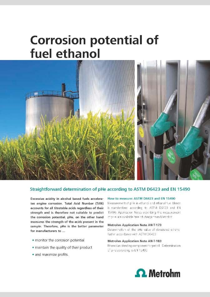 Corrosion of fuel ethanol white paper