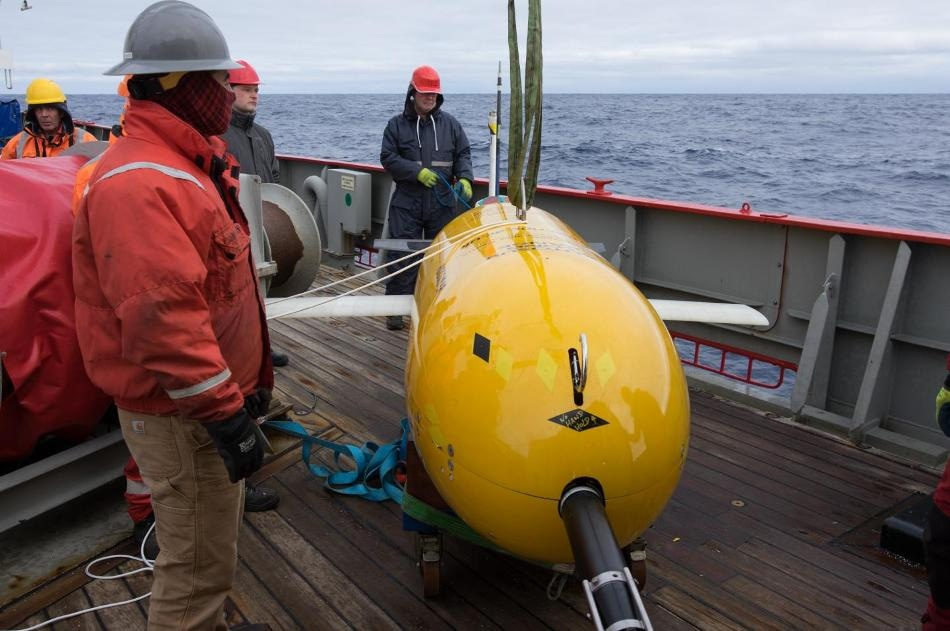 Boaty McBoatface Studies Changing Temperatures at the Bottom of Southern Ocean