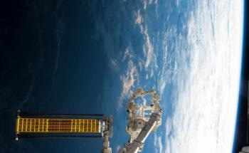 International Space Station to Test New Form of Roll-Out Solar Array