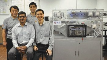 Water-Based, Energy-Saving Air-Conditioner Generates Potable Drinking Water