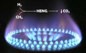 Hydrogen-Enriched Natural Gas Could Reduce Carbon Emissions