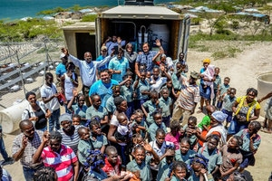 Solar Energy-Powered Water Filtration System Helps Haitians Access Clean Water