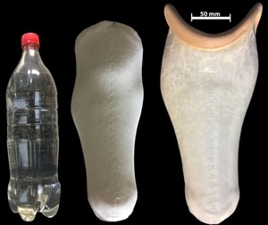 Researchers Turn Plastic Water Bottles into Prosthetic Limbs