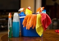 Cleaning with Bleach Could Create Indoor Air Pollutants