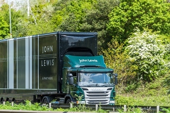 John Lewis Trucks to Run on Carbon Neutral Cow Manure