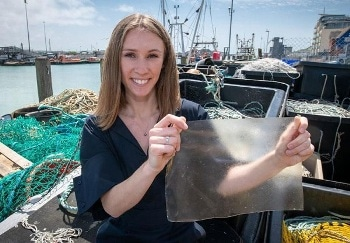 Fish Waste-Based Plastic for Single-Use Packaging Receives James Dyson Award