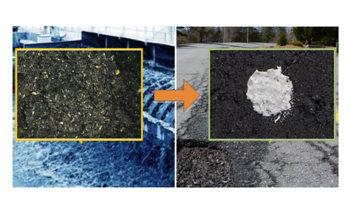 Eco-Friendly Wastewater Grit can Help Repair Potholes
