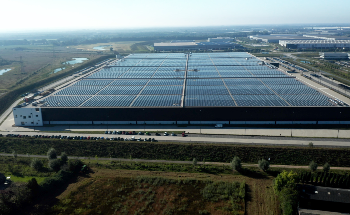 Installation Completed of the World's Most Powerful Solar Roof Currently Operating at PVH Europe's State-of-the-Art Warehouse and Logistics Center