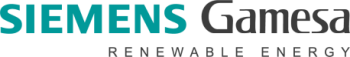 Siemens Gamesa Renewable Energy logo.
